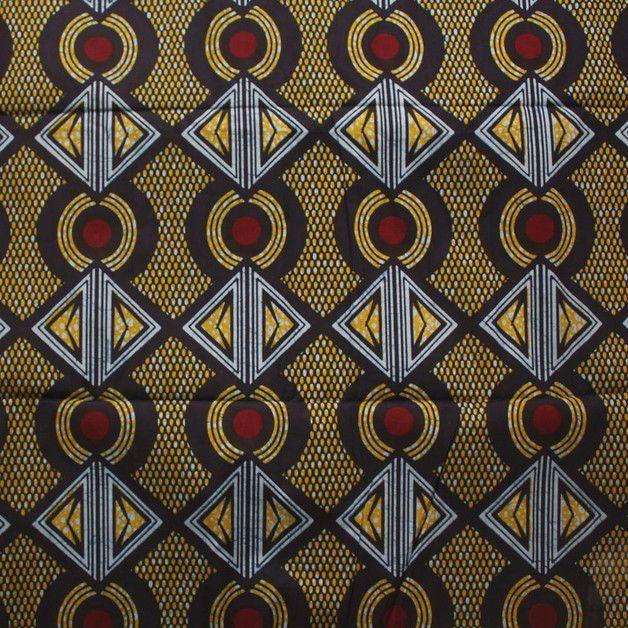 AFRIKANISCHE STOFFE - 309 individuelle Produkte aus der Kategorie: Material | DaWanda