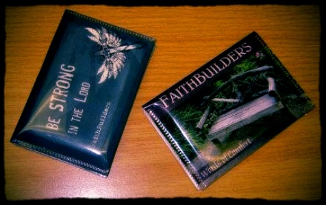 Packets of Faith-builders now on Sale. Was: R30-00 per packet. NOW ONLY: R20-00  per packet.