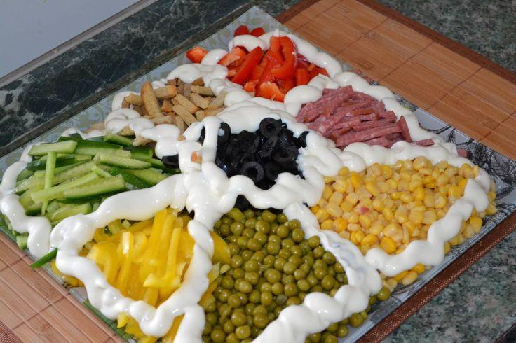 Рецепты салатов новогодних с фотографиями