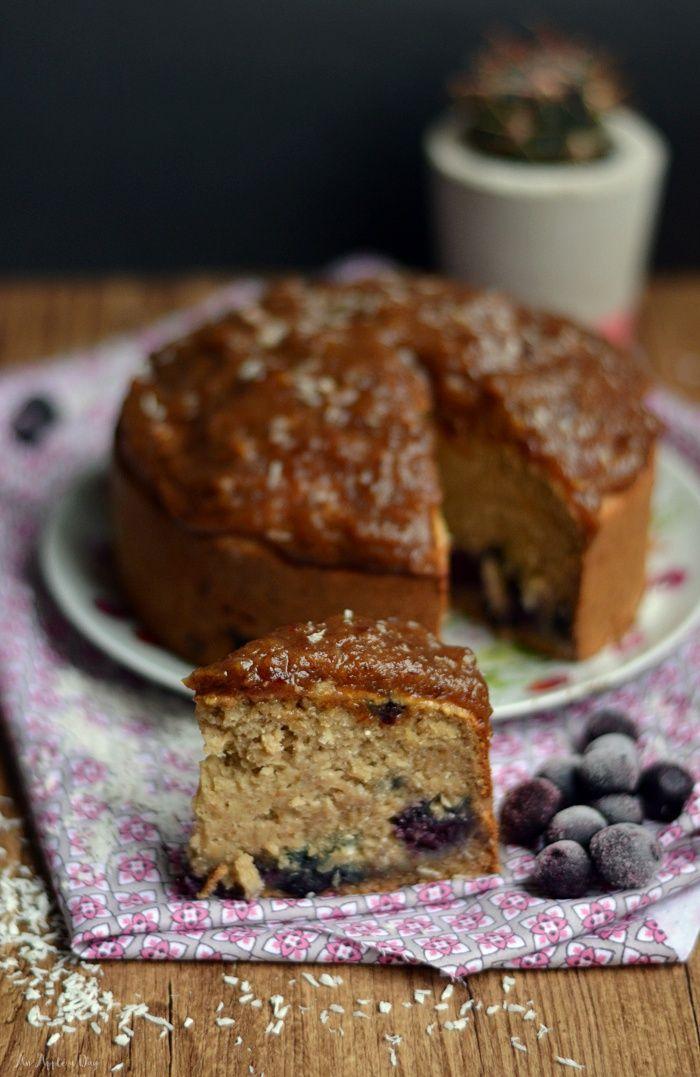 Ciasto kokosowe x4 (wegańskie, bez glutenu!) / Coconut cake (vegan, gluten-free!)