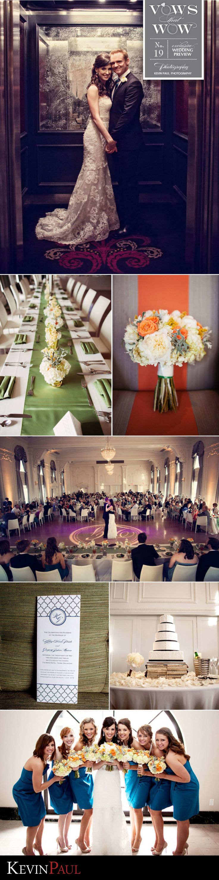 Vows that Wow - No. 19 - Kelley and Greg | Photography: Kevin Paul