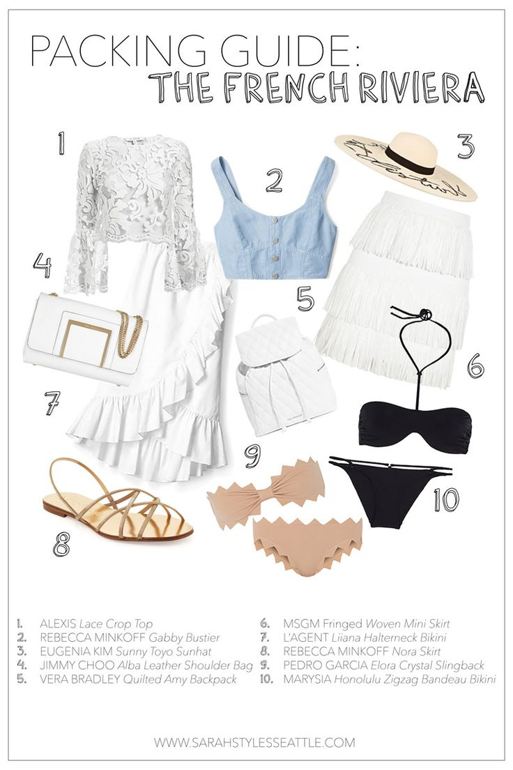 10 Fashionable Items To Pack For The French Riviera