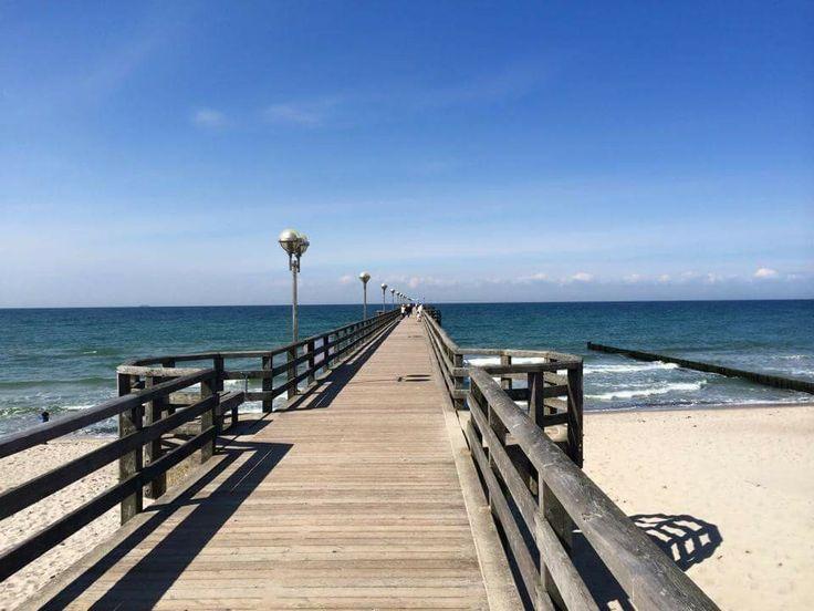 Strandbrücke nahe der Ferienwohnung Graal Müritz Appartement  #GraalMüritz #Graal #Mueritz #GraalMueritz #Ostsse #Strand #Ferienwohnung #FEWO #Hotel #Urlaub