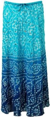 ShopStyle: Women's East Bandhini silk skirt