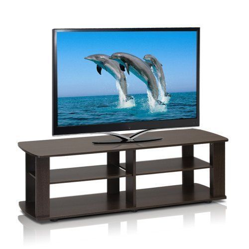 "Television Stand For TV Flat Screens Entertainment Center 42"" Modern Durable New #TelevisionStandForTVFlatScreens #Modern"
