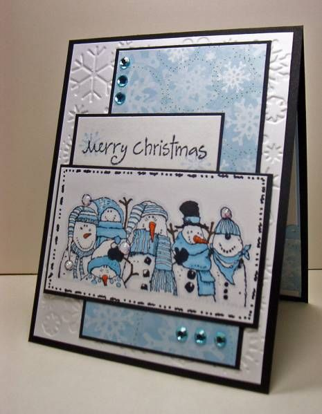 snowman - Holiday Lineup - Splitcoaststampers