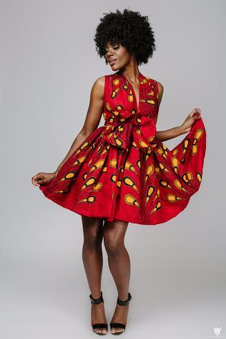 Top Ten Current ankara styles 2017 You Will To Have | Dabonke