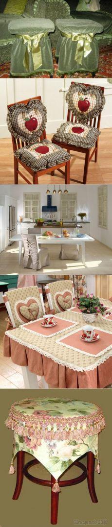 Оригинальные чехлы на стулья на кухню: отражение вашей индивидуальности