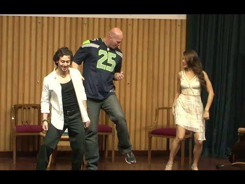 UNSEEN ! Tiger Shroff & Nathan Jones dances together.
