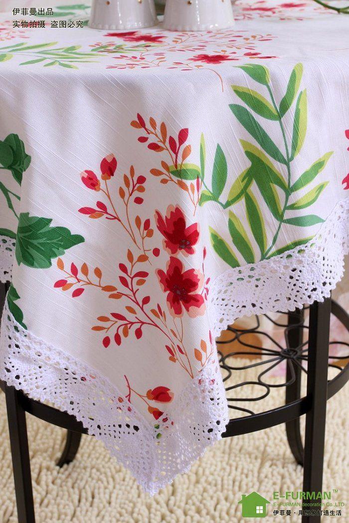 Ифэй Человек ткань скатерти скатерть кружева тканевое покрытие тканью крышка ткань пастырской журнальный столик минималистский стиль размеры могут быть настроены -tmall.com Lynx