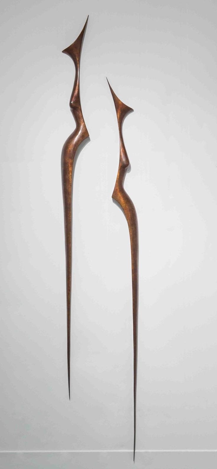 Dual figure - Bronze - Anna Korver