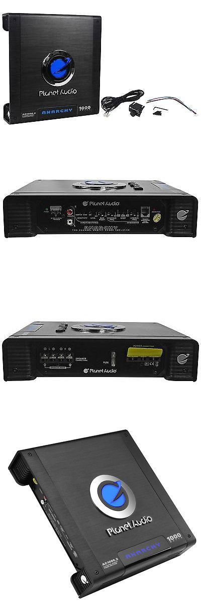 Car Amplifiers: New Planet Audio Anarchy Ac1000.2 1000 Watt 2 Channel Car Amplifier Amp + Remote -> BUY IT NOW ONLY: $59.9 on eBay!