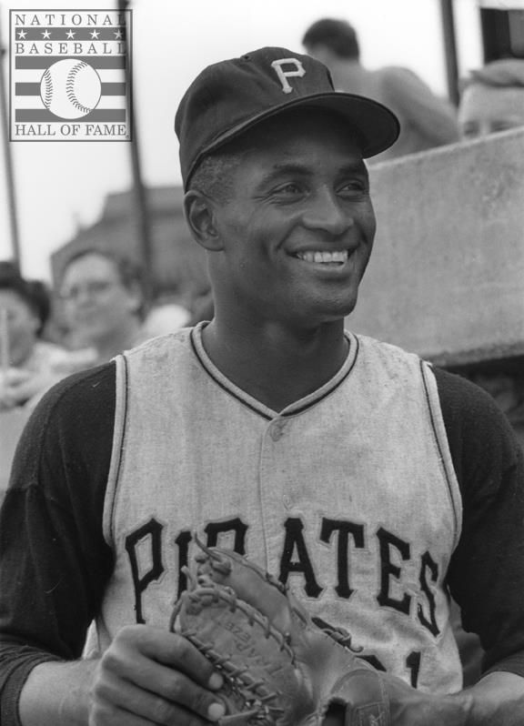 Roberto Clemente - Pittsburgh Pirates el mejor el líder del movimiento