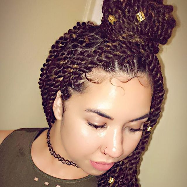 Top 100 baby hairstyles photos Marley Twist  #Marleytwist #babyhairsonfleek #babyhairstyles #twostrandtwist #lastylist #princessjstyles See more http://wumann.com/top-100-baby-hairstyles-photos/