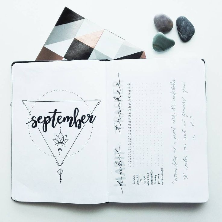 27 Superb September Bullet Journal Layouts To Inspire You