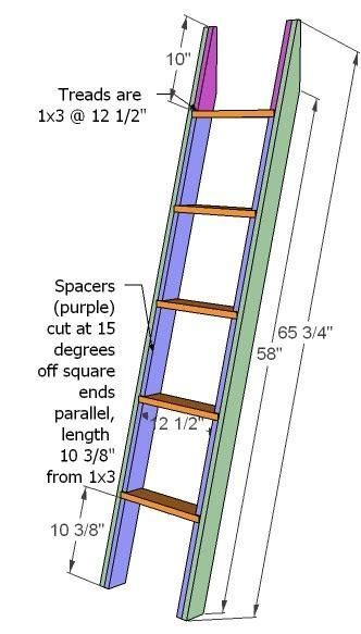 best 20+ bunk bed ladder ideas on pinterest   bunk bed shelf