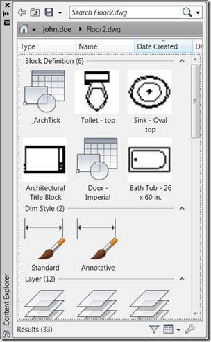 Tips and Trick for AutoCAD 2013 - Content Explorer and Autodesk 360/ by Shaan Hurley