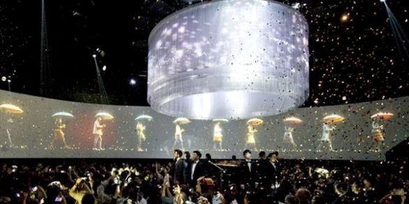 Holographic Fashion Shows