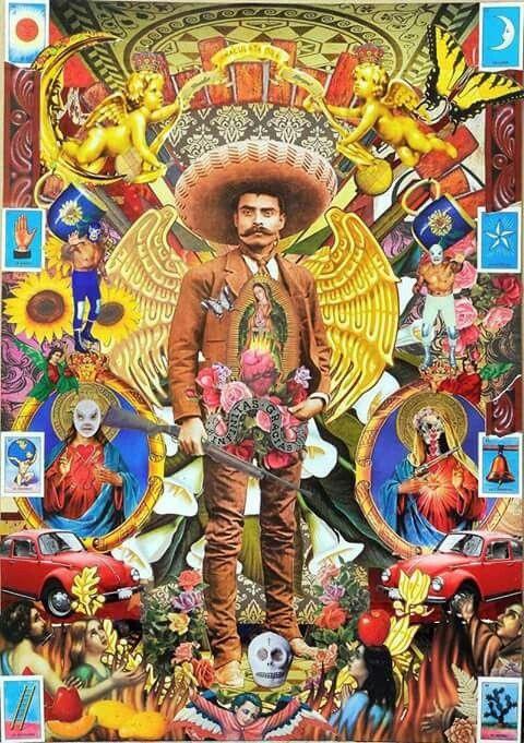 day of the dead mural #artesaniasmexico #artesaniasMexicanas