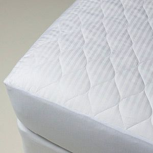 Hi Loft is a premium cotton product made from washable, all new, long fibre Australian cotton. Due to the special carding process used in manufacture it is loftier than other cotton with the same weight. It is more breathable, luxuriously soft and lightweight. The mattress protector has a 200gsm hi loft Australian cotton fill with a 1cm stripe sateen cotton cover and a 40cm knitted skirt. As cotton is a natural, breathable fibre, the protector is perfect for all seasons.