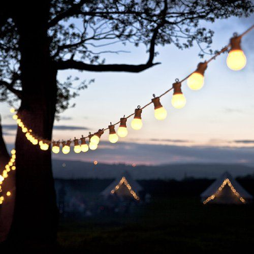24 best cafe lights images on pinterest festoon lights cable and 60 warm white led connectable festoon party lights type u for indoor outdoor use by lights4fun aloadofball Choice Image