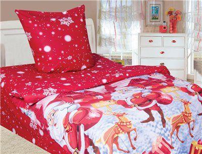 Комплект натурального постельного белья для детей