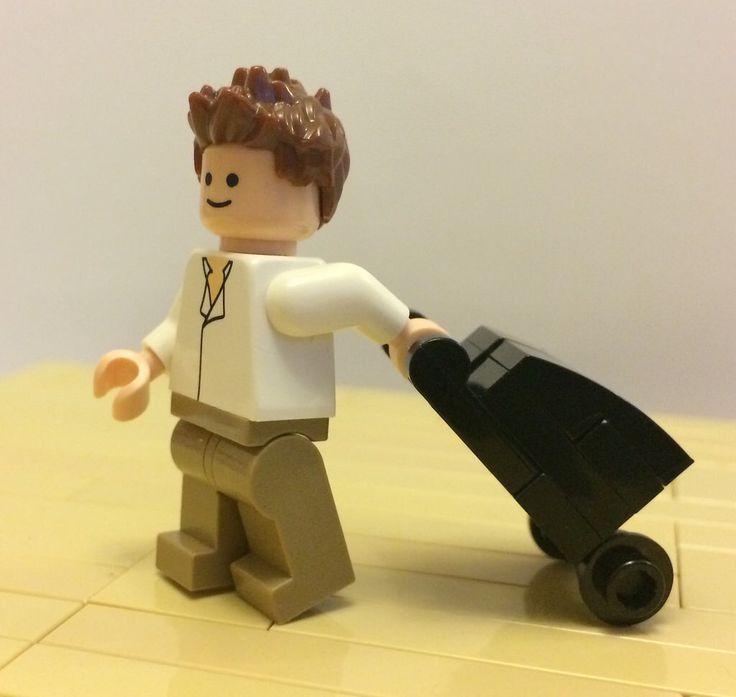 Lego Wheeled Suitcase