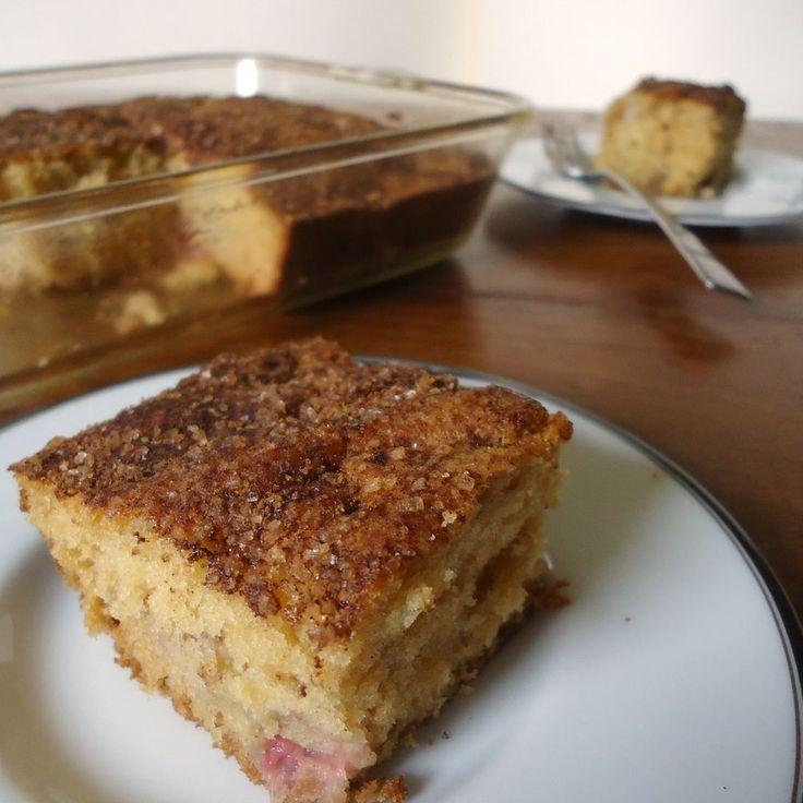 Rhubarb Cake Recipe on Food52 recipe on Food52