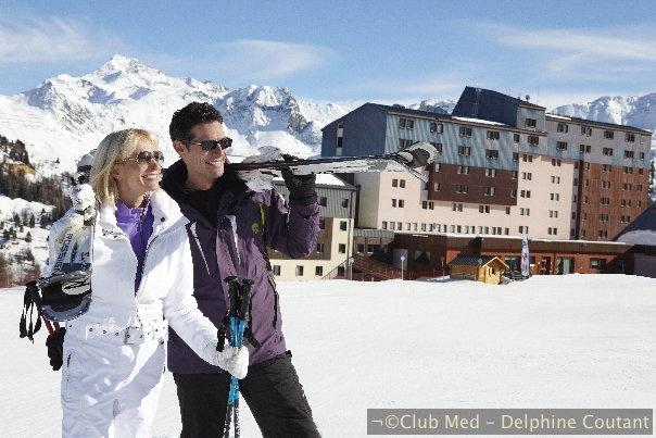 France - Aime la Plagne -           Un Village chaleureux et confortable face au mont Blanc