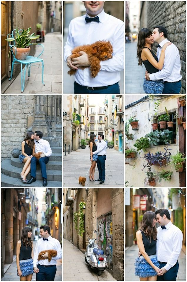 In actual love with this Barcelona engagement shoot by Destination Wedding Photographer Anneli Marinovich