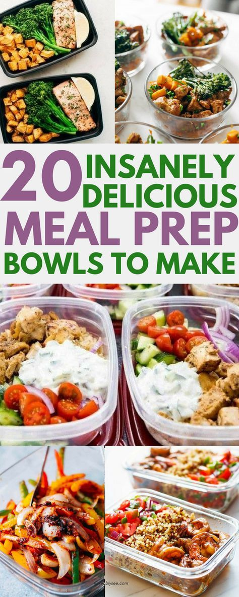 20 Delicious Dinner Recipes To Meal Prep For The Week Recipes