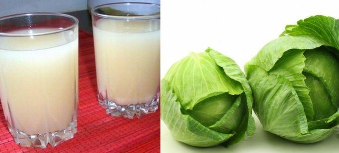 Kapusta, sok z młodej kapusty pij do 100. urodzin