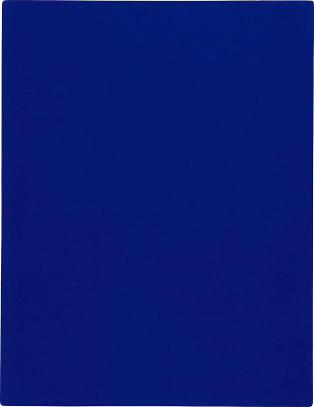 Yves Klein, California (IKB 69), 1961, 194,5 x 140 cm.