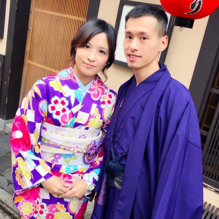 とっても素敵なカップルさんがご来店✨ お二人ともお似合いでした�� 京都で素敵な思い出をたくさん作ってくださいね��✨ * Wonderfull guests visited us today✨ We hope our kimono be a help to their trip be wonderful thing! * 精彩的客人今天访问了我们✨ 谢谢�� * Terima kasih banyak-banyak. Jumpa lagi✨ * 고맙습니다. 다시 오세요✨ * ⚫︎京都祇園 着物レンタル Mission Gion 老舗呉服店の着物と全国トップクラスの美容グループによるヘア&着付け。 rental kimono Mission Gion http://mission-gion.com * #thankyou #kyoto #kimono #gion #rental #missiongion #japan #tourist #sightseeing #京都 #着物 #和服 #着物レンタル #祇園 #観光 #清水寺 #伏見稲荷 #八坂神社 #fushmiinari…