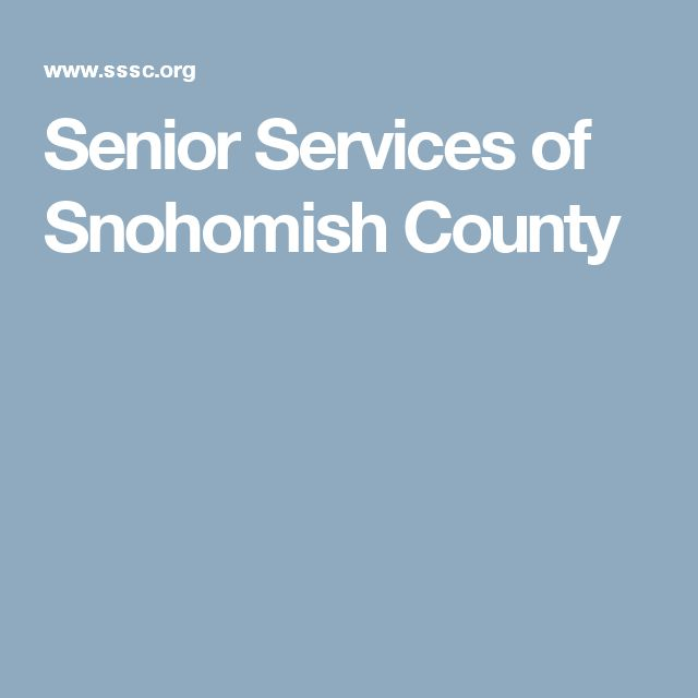 Senior Services of Snohomish County