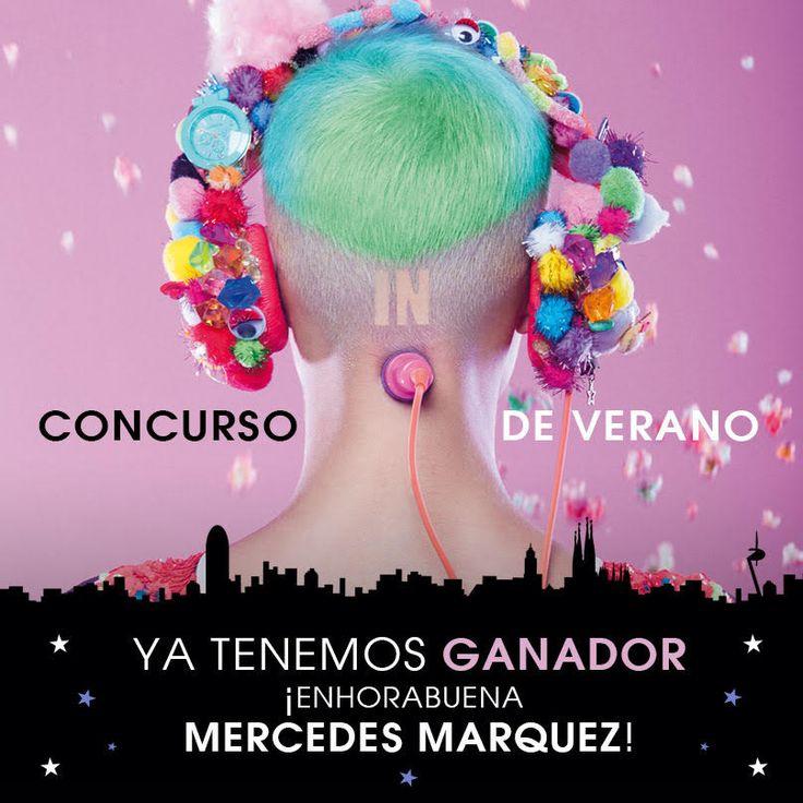 Ya tenemos ganador del concurso de verano.     ¡Enhorabuena Mercedes Marquez!