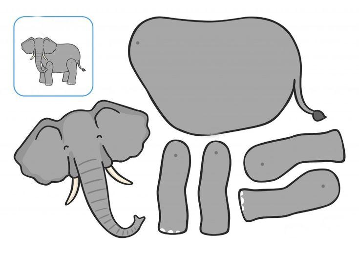 сам шаблоны слоник аппликация норме, процессе