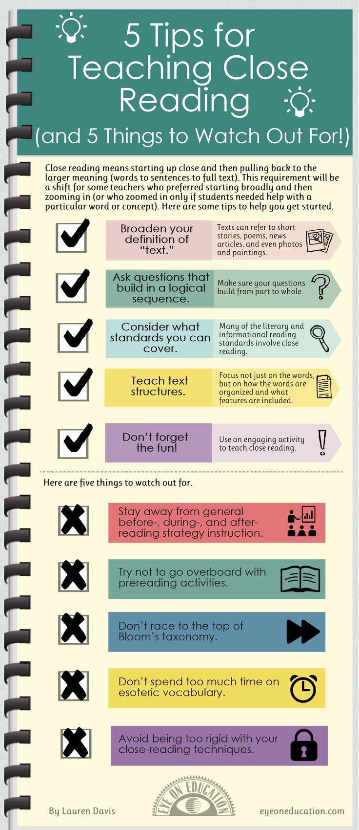 Common Core Standards for CLOSE reading