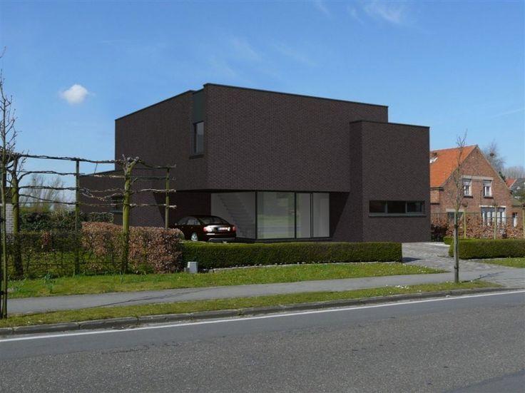 17 beste idee n over moderne architectuur woning op pinterest moderne architectuur moderne for Afbeelding van moderne huizen