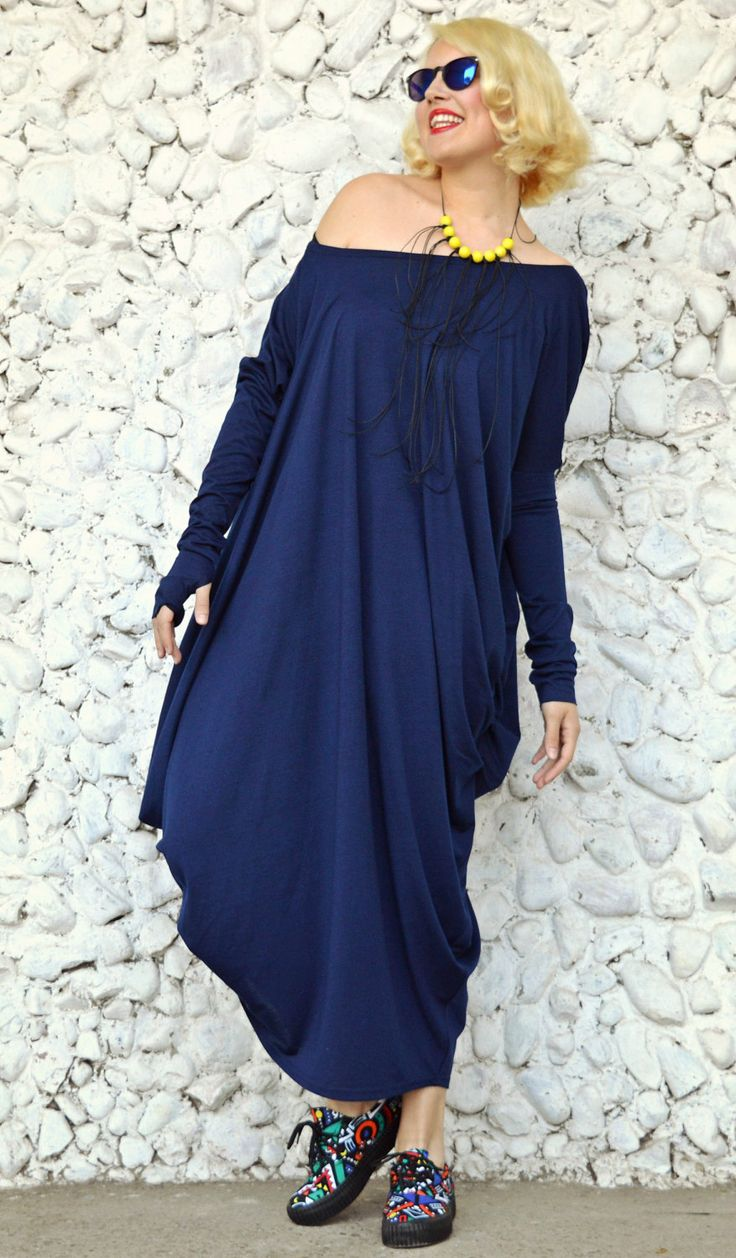 New in our shop! Asymmetrical Blue Kaftan / Off Shoulder Dress / Maxi Dress / Loose Oversize Dress TDK13 https://www.etsy.com/listing/173767759/asymmetrical-blue-kaftan-off-shoulder?utm_campaign=crowdfire&utm_content=crowdfire&utm_medium=social&utm_source=pinterest