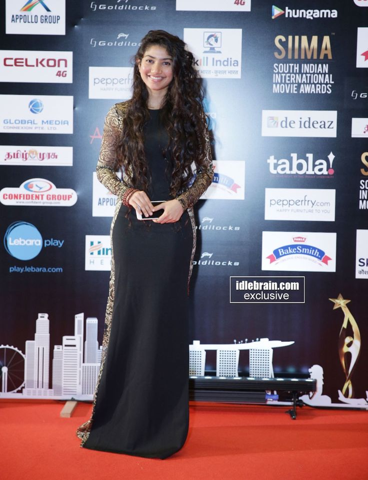 Sai Pallavi at South Indian International Movie Awards (SIIMA) 2016- Day 2 http://idlebrain.com/news/functions1/celebrities-siima20161/index.html