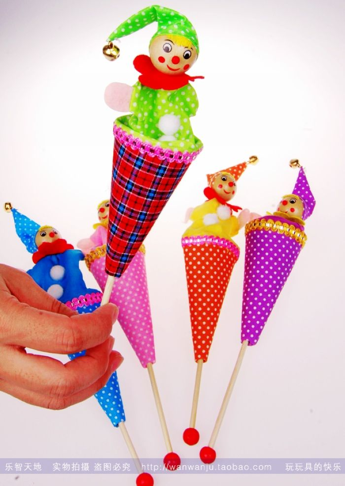 Традиционные детские игрушки в прятки клоун смешной Детские игрушки счастливы вместе ностальгический новую королеву - Taobao