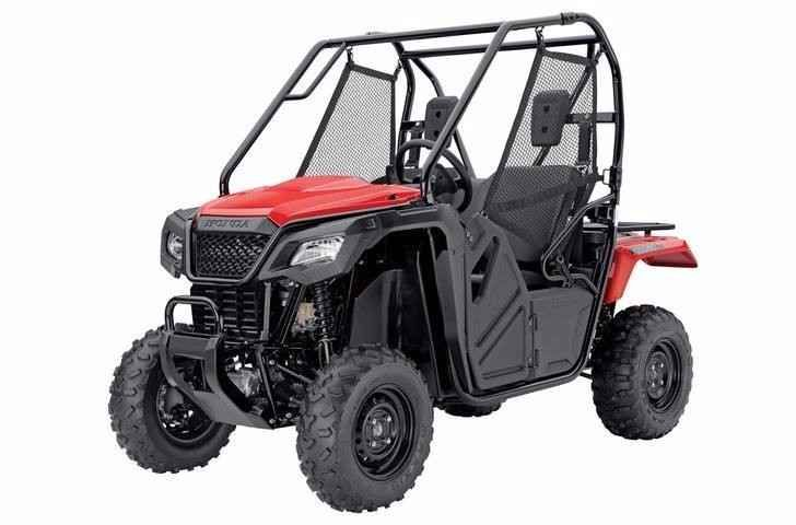 New 2016 Honda PIONEER 500 ATVs For Sale in Ohio. The Pioneer 500 is a brilliant concept: Like a full-sized side-by-side, it lets you take a passenger along and has the off-road capability to get you where you need to go. But the Pioneer 500 is a new take on the SxS formula: it's narrow, fits on tight trails, is fun to drive and easy to load into a full-size truck bed.