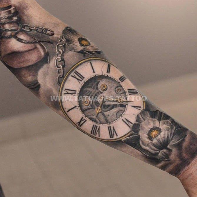 Significado Tatuaje Reloj