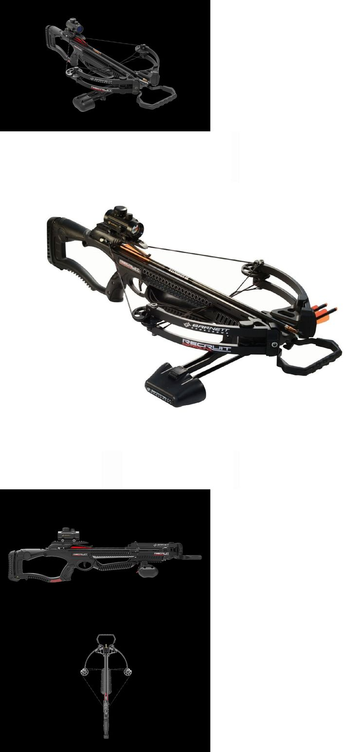 Crossbows 33972: Barnett Recruit Compound Black Crossbow Bolts Sight Rope Cocking Device-78610New BUY IT NOW ONLY: $188.38