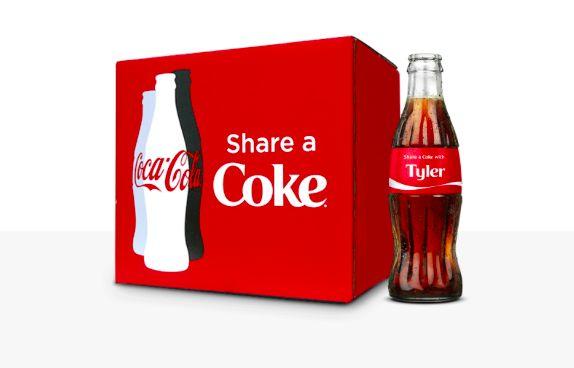 Innamorarsi in cucina: Share a Coke (customized)