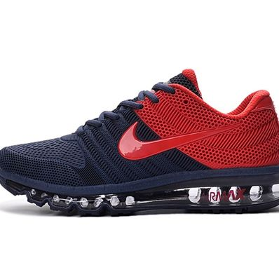 Nike Air Max 2017 Dark Blue Red Men Shoes