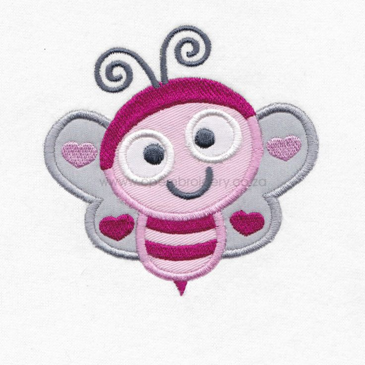 Love Bug Bee Appliqué