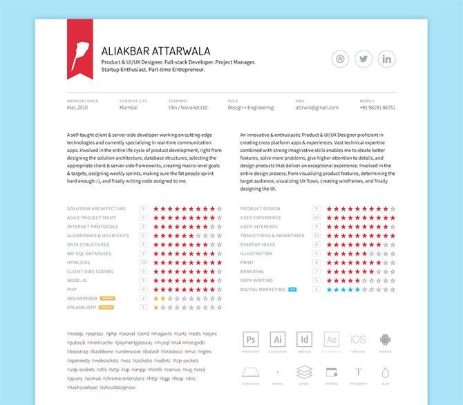 Free Creative Resume Template: Best 25+ Free Printable Resume Ideas On Pinterest