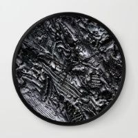 Bronzed Wall Clock Keep time with stylishly designed wall clocks.
